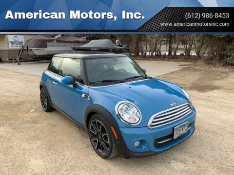 2013 MINI Hardtop for sale at American Motors, Inc. in Farmington MN