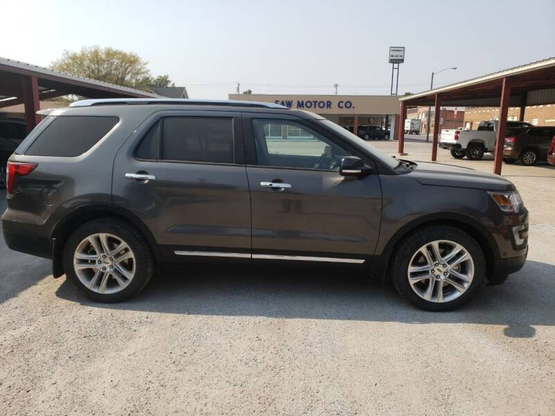 2016 Ford Explorer for sale at Faw Motor Co in Cambridge NE