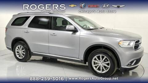 2017 Dodge Durango for sale at ROGERS  AUTO  GROUP in Chicago IL
