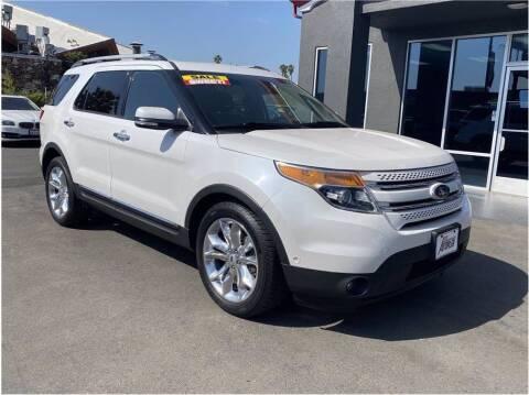 2014 Ford Explorer for sale at Carros Usados Fresno in Fresno CA