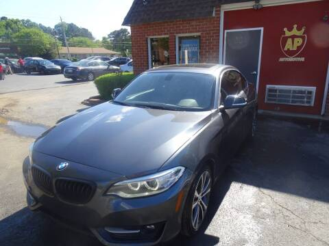 2015 BMW 2 Series for sale at AP Automotive in Cary NC