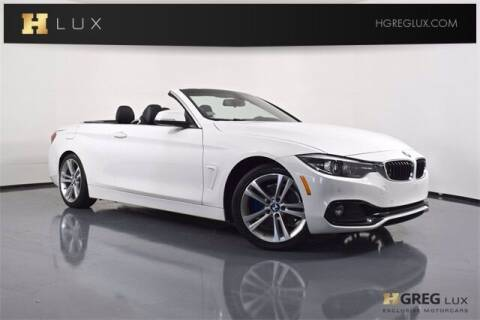 2018 BMW 4 Series for sale at HGREG LUX EXCLUSIVE MOTORCARS in Pompano Beach FL
