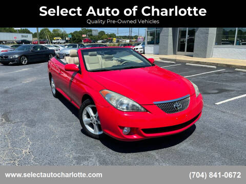 2005 Toyota Camry Solara for sale at Select Auto of Charlotte in Matthews NC