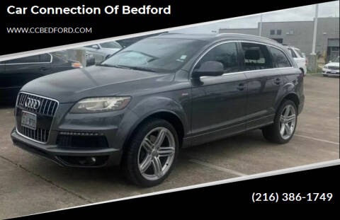 2011 Audi Q7 for sale at Car Connection of Bedford in Bedford OH