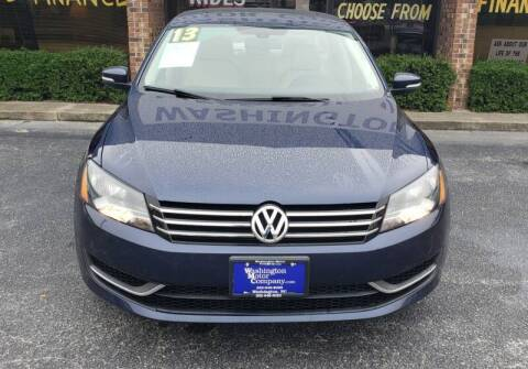 2013 Volkswagen Passat for sale at Kinston Auto Mart in Kinston NC