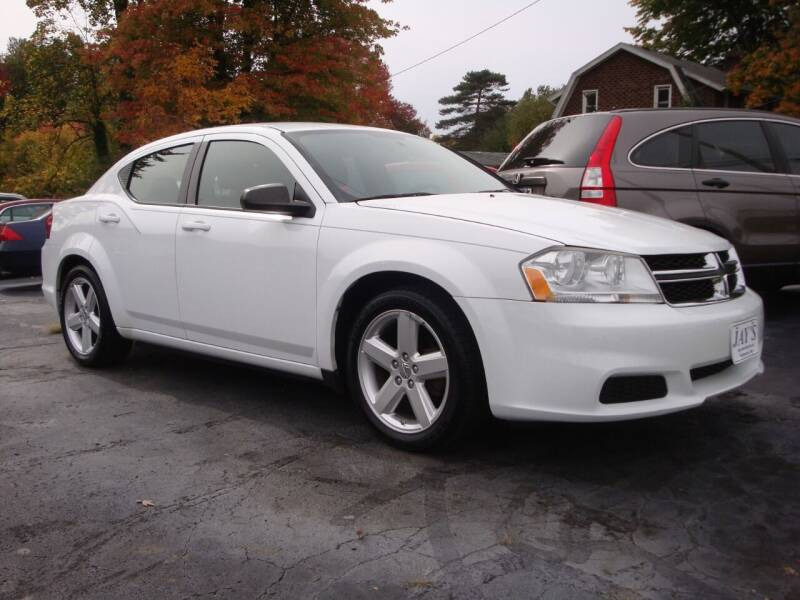 2013 Dodge Avenger for sale at Jay's Auto Sales Inc in Wadsworth OH