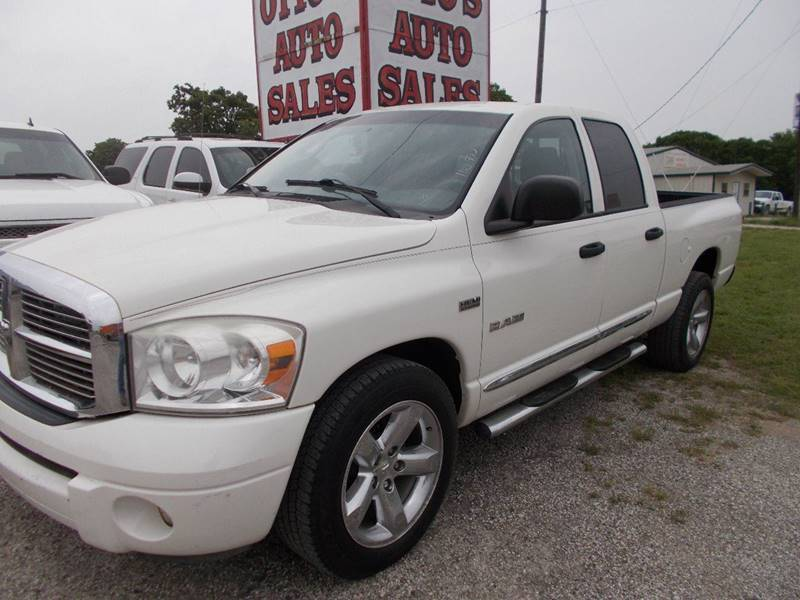 2008 Dodge Ram Pickup 1500 for sale at OTTO'S AUTO SALES in Gainesville TX