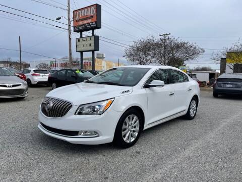 2015 Buick LaCrosse for sale at Autohaus of Greensboro in Greensboro NC