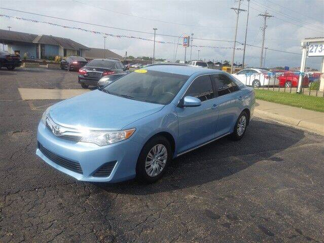 2012 Toyota Camry for sale at Jim Clark Auto World in Topeka KS