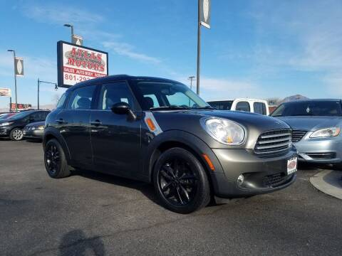 2011 MINI Cooper Countryman for sale at ATLAS MOTORS INC in Salt Lake City UT