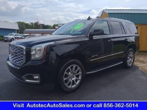 2018 GMC Yukon for sale at Autotec Auto Sales in Vineland NJ
