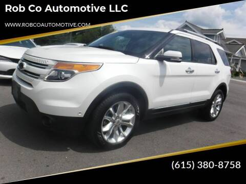 2014 Ford Explorer for sale at Rob Co Automotive LLC in Springfield TN