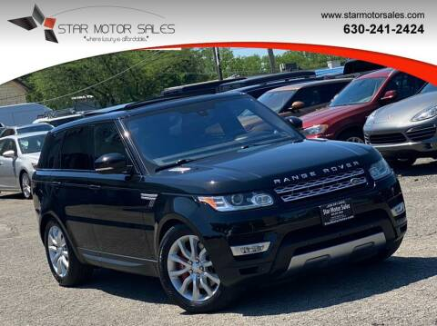 2016 Land Rover Range Rover Sport for sale at Star Motor Sales in Downers Grove IL