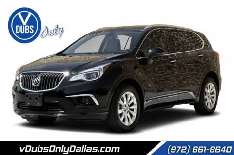2017 Buick Envision for sale at VDUBS ONLY in Dallas TX