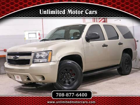 2007 Chevrolet Tahoe for sale at Unlimited Motor Cars in Bridgeview IL
