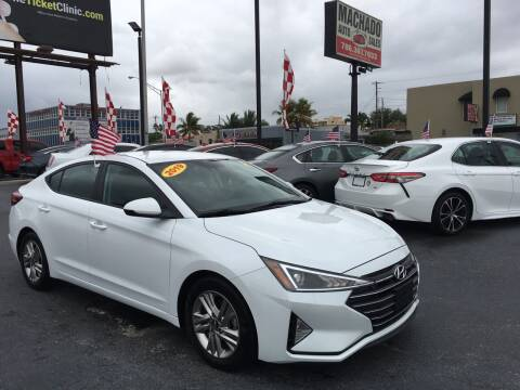 2019 Hyundai Elantra for sale at MACHADO AUTO SALES in Miami FL