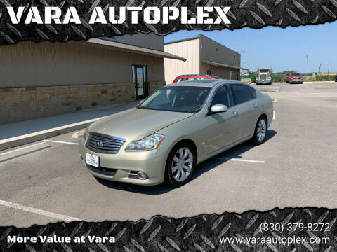 2006 Infiniti M35 for sale at VARA AUTOPLEX in Seguin TX