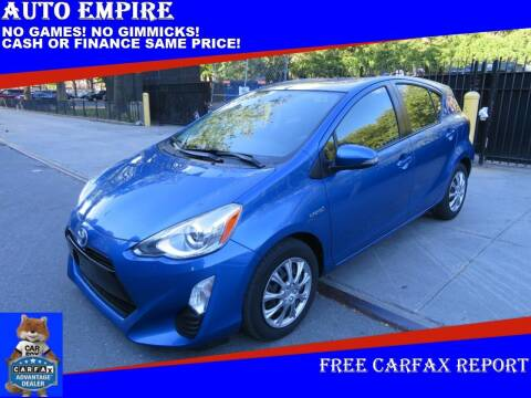 2016 Toyota Prius c for sale at Auto Empire in Brooklyn NY