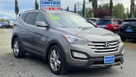 2013 Hyundai Santa Fe Sport for sale at United Auto Sales in Anchorage AK
