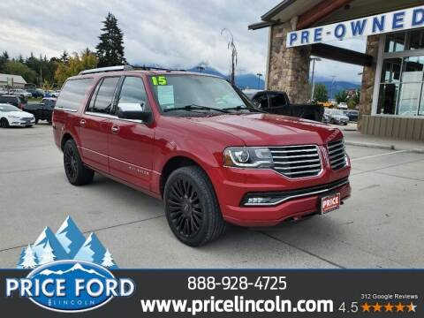 2015 Lincoln Navigator L for sale at Price Ford Lincoln in Port Angeles WA