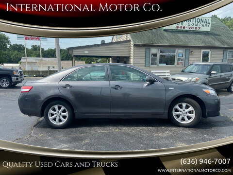 2011 Toyota Camry for sale at International Motor Co. in Saint Charles MO