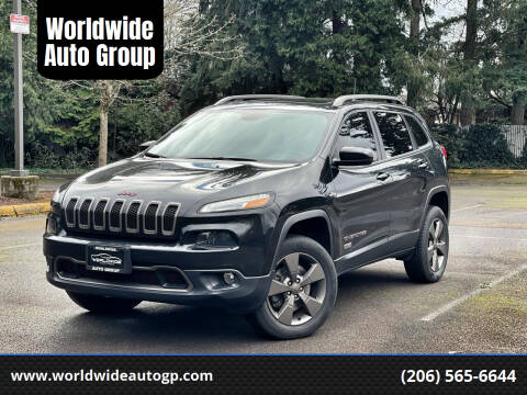 2016 Jeep Cherokee for sale at Worldwide Auto Group in Auburn WA