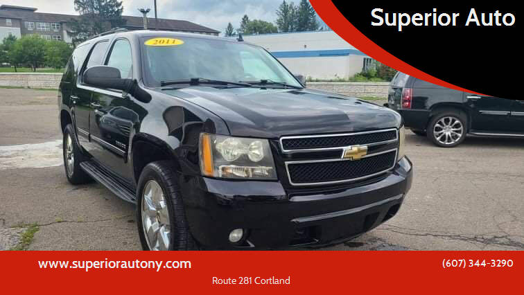 2011 Chevrolet Tahoe for sale at Superior Auto in Cortland NY