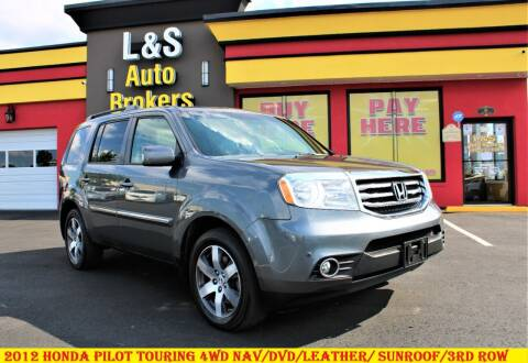 2012 Honda Pilot for sale at L & S AUTO BROKERS in Fredericksburg VA