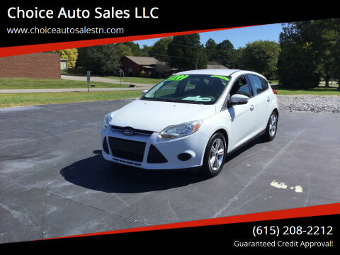 2014 Ford Focus for sale at Choice Auto Sales LLC - Buy Here Pay Here in White House TN