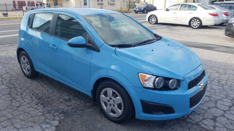 2014 Chevrolet Sonic for sale at WEELZ in New Castle DE