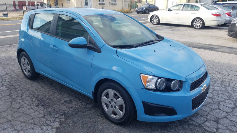 2014 Chevrolet Sonic for sale at WEELZ in New Castle DE