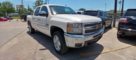 2012 Chevrolet Silverado 1500 for sale at AUTOTEX FINANCIAL in San Antonio TX
