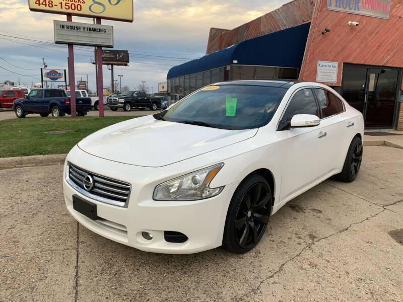 2012 Nissan Maxima for sale at Cars To Go in Lafayette IN