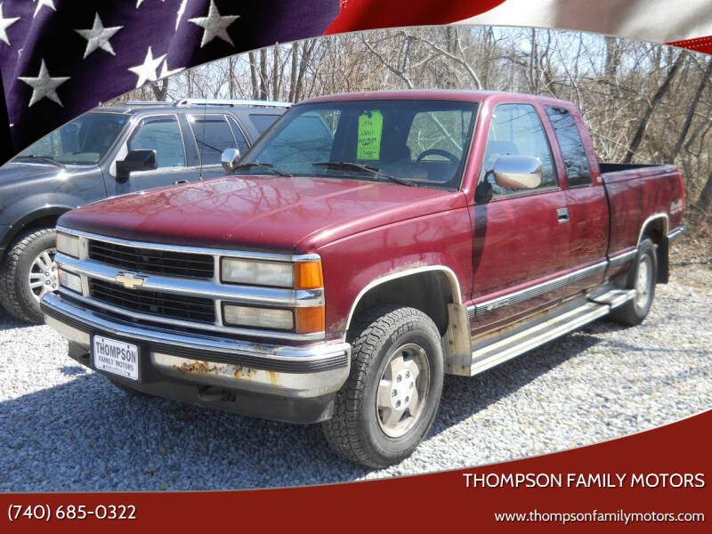 1994 Chevrolet C/K 1500 Series for sale at THOMPSON FAMILY MOTORS in Senecaville OH