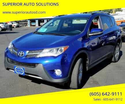 2015 Toyota RAV4 for sale at SUPERIOR AUTO SOLUTIONS in Spearfish SD