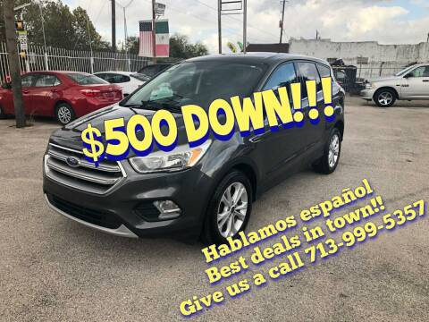 2017 Ford Escape for sale at Saipan Auto Sales in Houston TX
