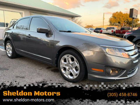 2011 Ford Fusion for sale at Sheldon Motors in Tampa FL