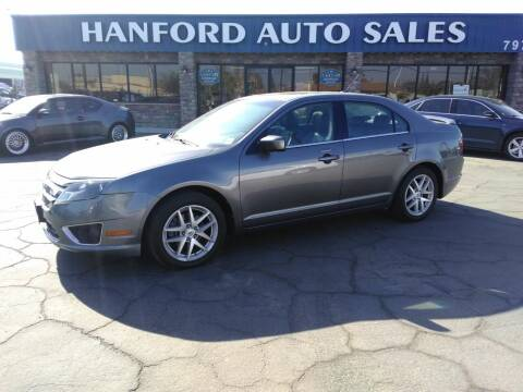 2010 Ford Fusion for sale at Hanford Auto Sales in Hanford CA