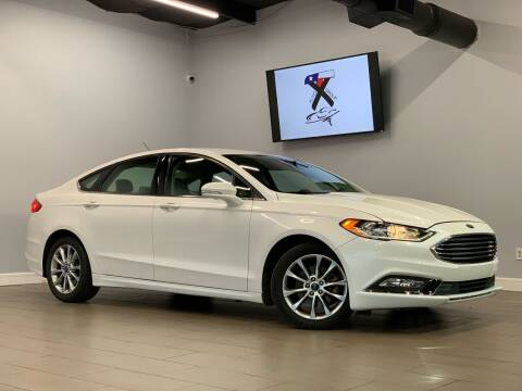 2017 Ford Fusion for sale at TX Auto Group in Houston TX