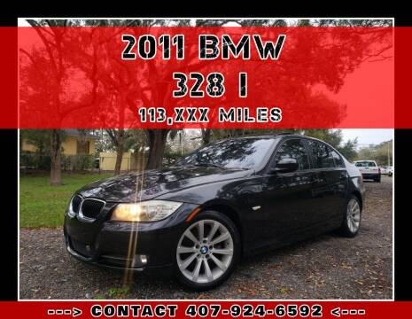 2011 BMW 3 Series for sale at AFFORDABLE ONE LLC in Orlando FL
