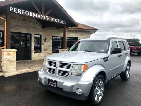 2011 Dodge Nitro for sale at Performance Motors Killeen Second Chance in Killeen TX