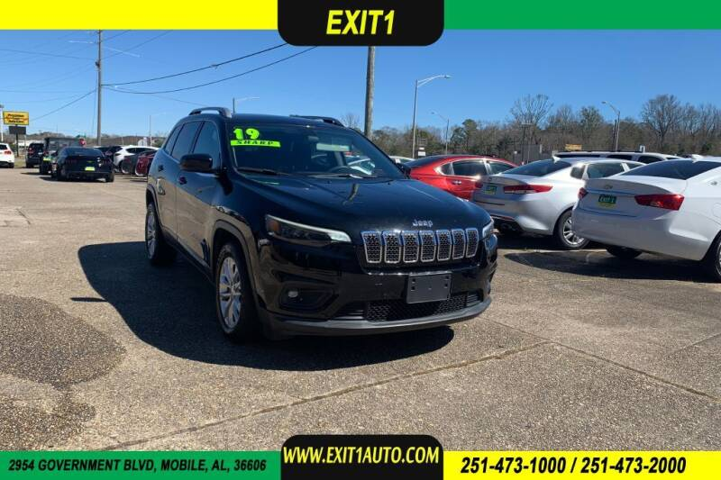 2019 Jeep Cherokee for sale at Exit 1 Auto in Mobile AL