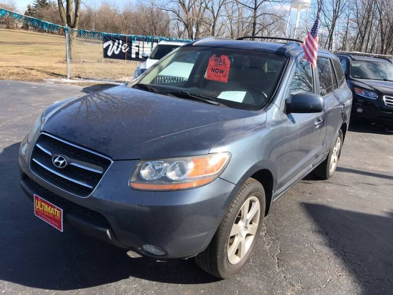 2008 Hyundai Santa Fe for sale at Ultimate Auto Sales in Crown Point IN