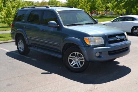 2007 Toyota Sequoia for sale at GLADSTONE AUTO SALES    GUARANTEED CREDIT APPROVAL in Gladstone MO