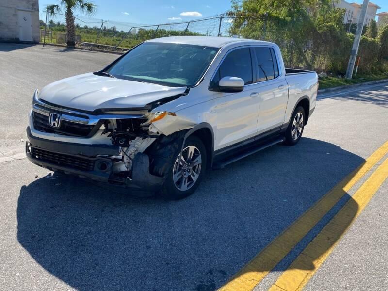 2017 Honda Ridgeline for sale at My Car Inc in Hialeah Gardens FL