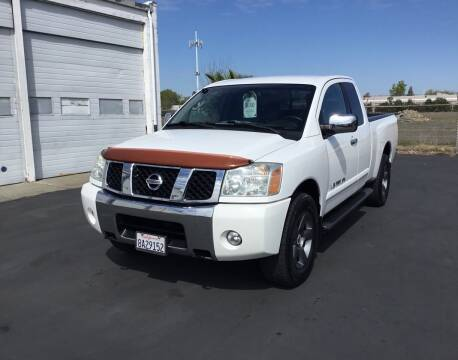 2005 Nissan Titan for sale at My Three Sons Auto Sales in Sacramento CA