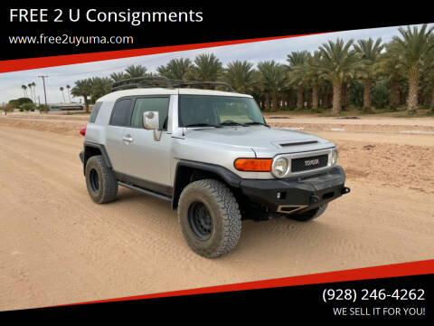 2007 Toyota FJ Cruiser for sale at FREE 2 U Consignments in Yuma AZ
