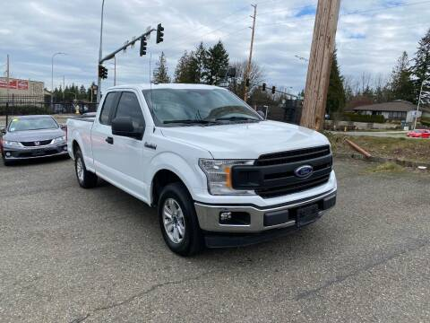 2018 Ford F-150 for sale at KARMA AUTO SALES in Federal Way WA