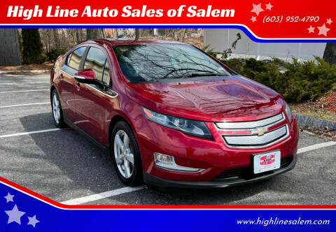 2014 Chevrolet Volt for sale at High Line Auto Sales of Salem in Salem NH