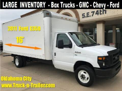 2013 Ford E-Series Chassis for sale at TRUCK N TRAILER in Oklahoma City OK